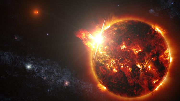 Những cơn bão từ trường do sao lùn đỏ phát ra còn mạnh và thường xuyên hơn Mặt trời.