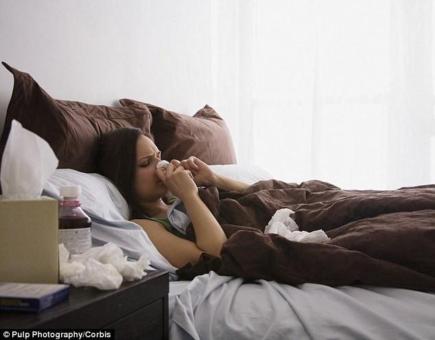 Thứ duy nhất hơn việc phải ngồi trên văn phòng chính là ốm liệt giường...