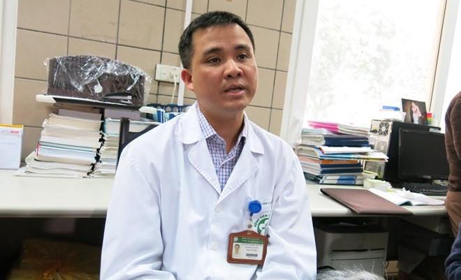 Bác sĩ Nguyễn Trung Nguyên.
