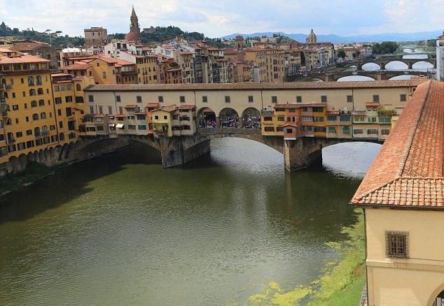 Hành lang bí mật ở Florence, Italia