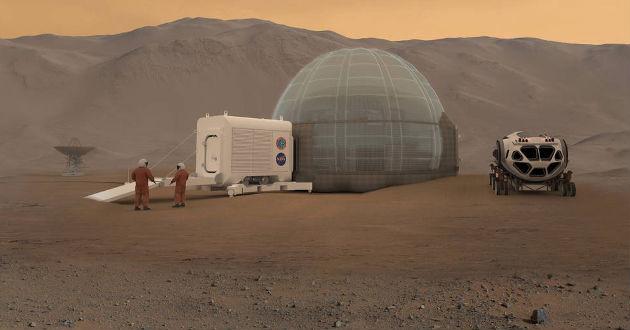 Nơi cư trú trên sao Hỏa