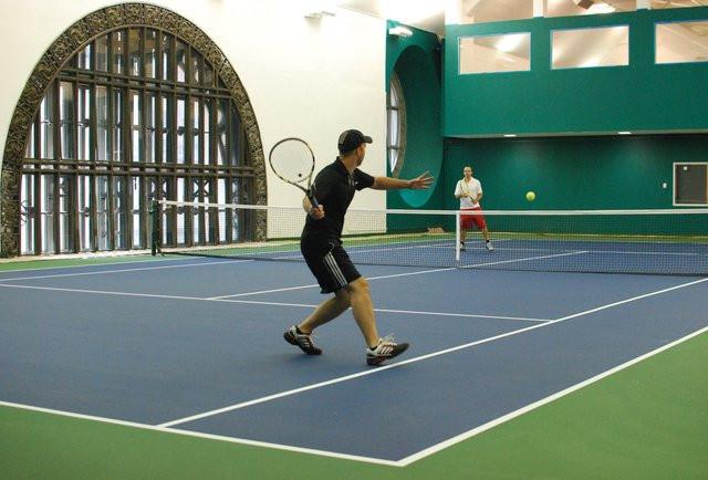 CLB quần vợt tại ga tàu điện ở New York