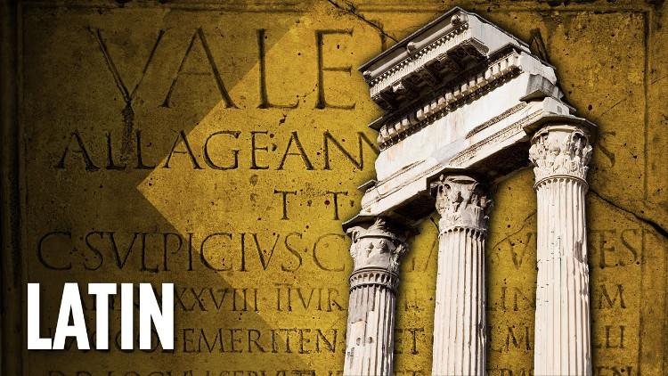 Giờ đây, tiếng Latin gần như không còn xuất hiện nữa.