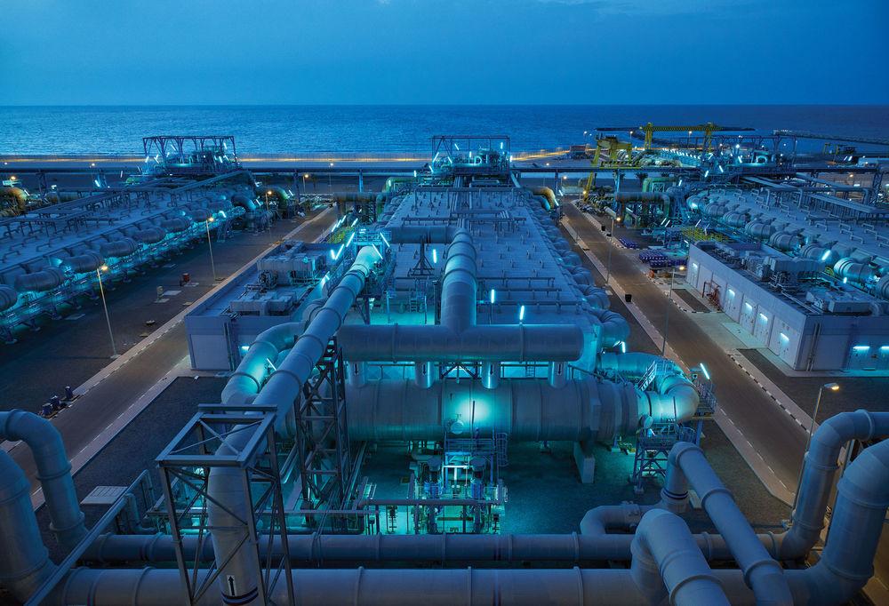 Dubai's giant desalination plant
