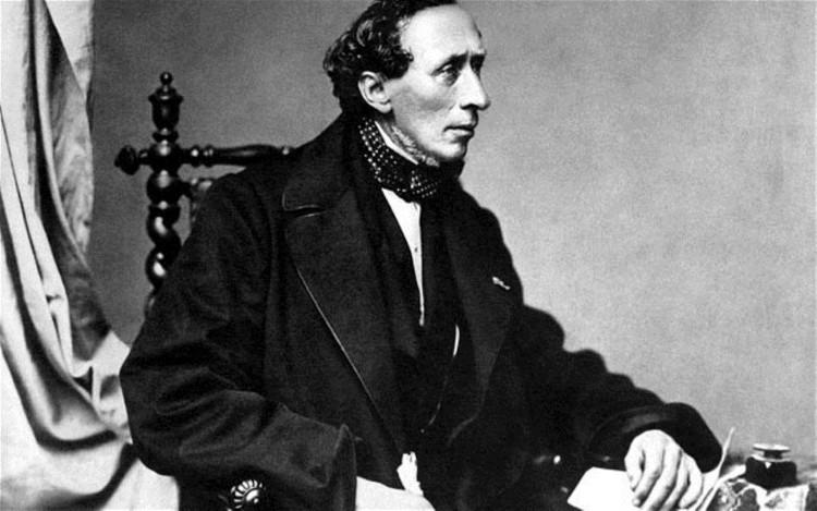 Nhà văn Hans Christian Andersen.