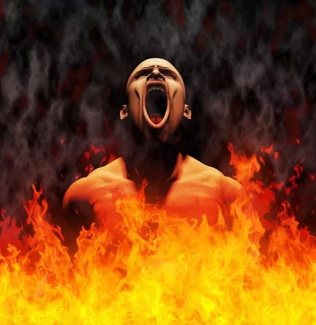 Một số người miêu tả địa ngục là nơi có nhiệt độ nắng nóng khủng khiếp.