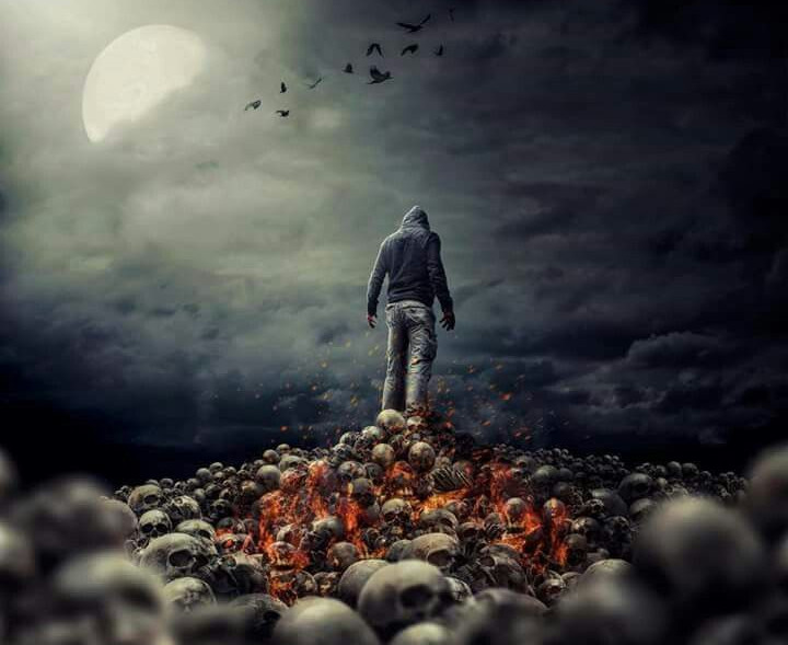"""Nhìn thấy vô số xác chết, xương người, hộp sọ... ở địa ngục là trải nghiệm đáng sợ của không ít trường hợp """"thập tử nhất sinh""""."""