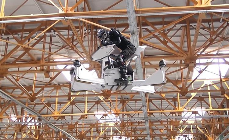 Xe bay cá nhân đầu tiên trên thế giới thử nghiệm thành công