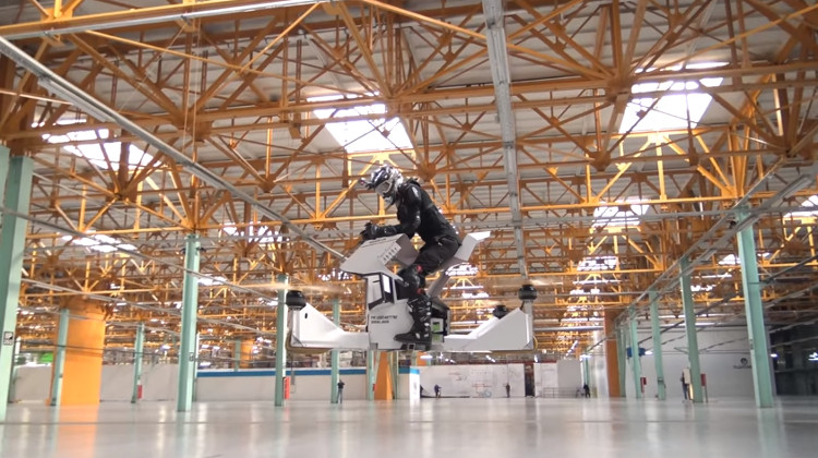 Thử nghiệm xe bay Scorpion-3.