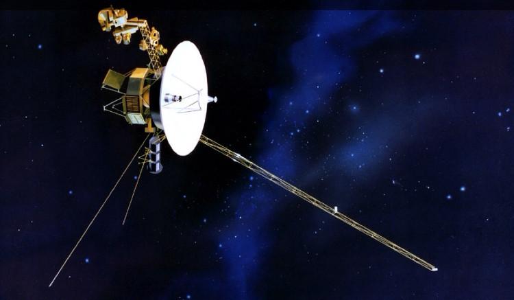 Tàu vũ trụ Voyager 2.