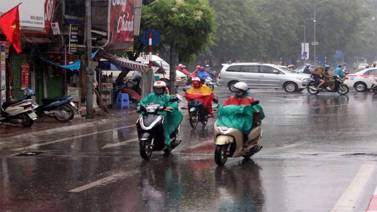Không khí lạnh tràn về khiến trời mưa rét từ ngày mai.