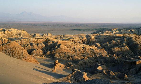 Sa mạc Atacama ở Chile là địa điểm giống sao Hỏa nhất trên Trái đất.