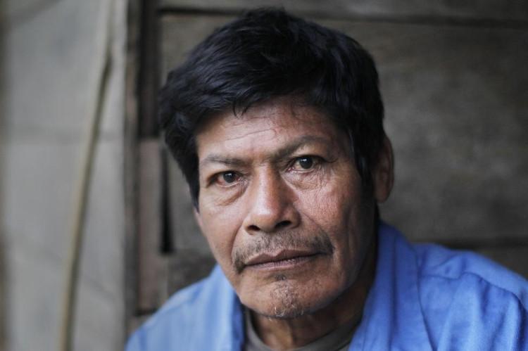 Alberto Flores, người của bộ tộc Mascho Piro, bị thợ săn mang đi từ khi còn nhỏ.