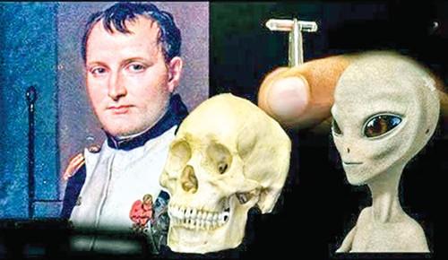 Con chip tìm thấy trong hộp sọ Napoleon.