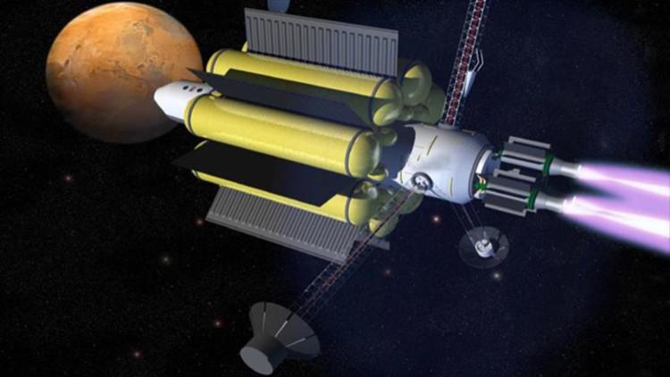 Động cơ VASIMIR mang trên mình một lò hạt nhân - Tương lai của ngành vũ trụ phải gắn với hạt nhân.