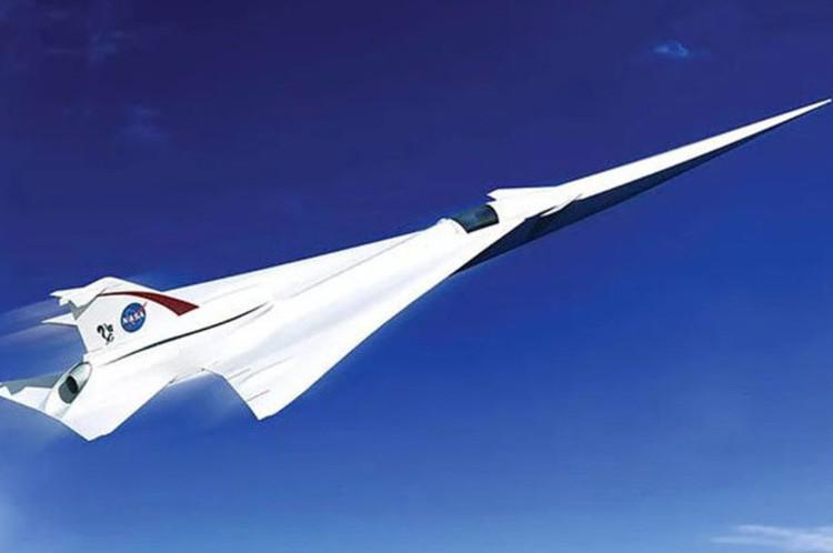 Máy bay phản lực Concorde mới của NASA có thể đạt vận tốc 2.180km/giờ.