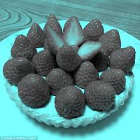 Lý giải hiện tượng quả dâu tây đánh lừa thị giác