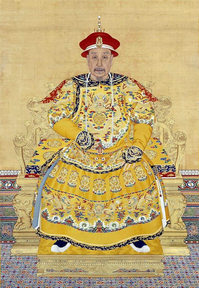 Chân dung Hoàng đế Càn Long.
