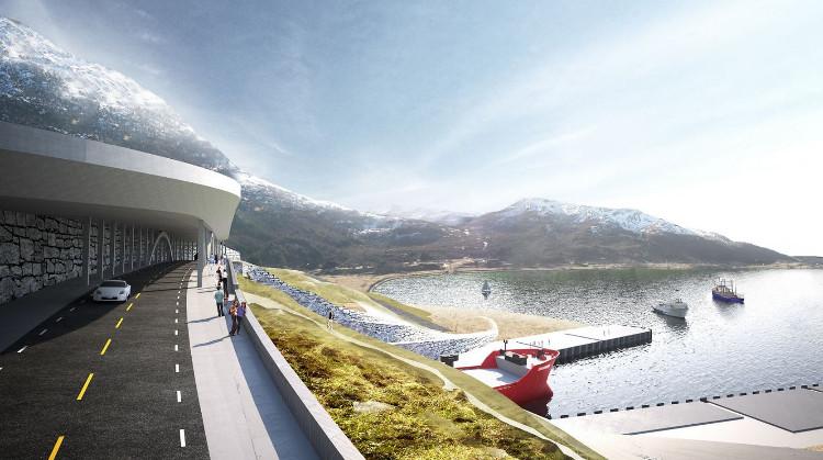 Sau khi đường hầm hoàn thành, các phương tiện có thể đi xuyên qua eo đất và đi ra ở gần đảo Barmøya, tiết kiệm cả thời gian và chi phí.