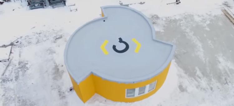 Căn nhà được in và sơn trong 24 giờ có thể chịu đựng được nhiều điều kiện thời tiết khắc nghiệt.