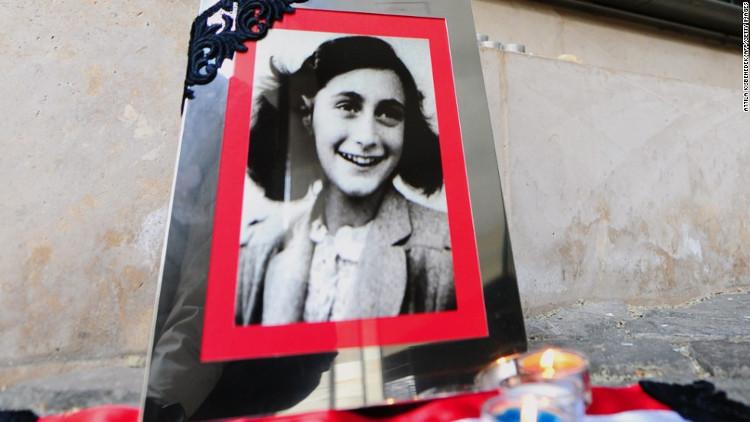 Chân dung tác giả cuốn nhật ký Anne Frank.