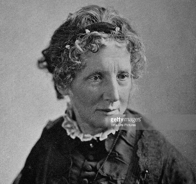 Bà Harriet Elizabeth Beecher Stowe.