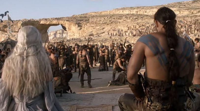 """Azure xuất hiện trong một cảnh phim """"Game of Thones"""", bộ phim truyền hình đình đám trên kênh HBO."""