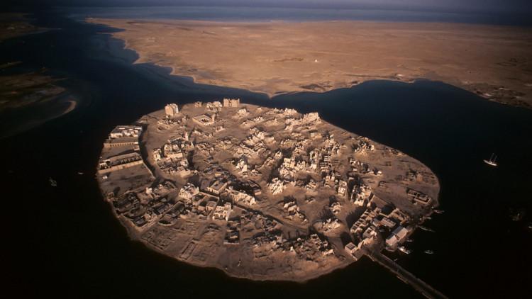 Thị trấn đảo Suakin ở phía đông bắc Sudan