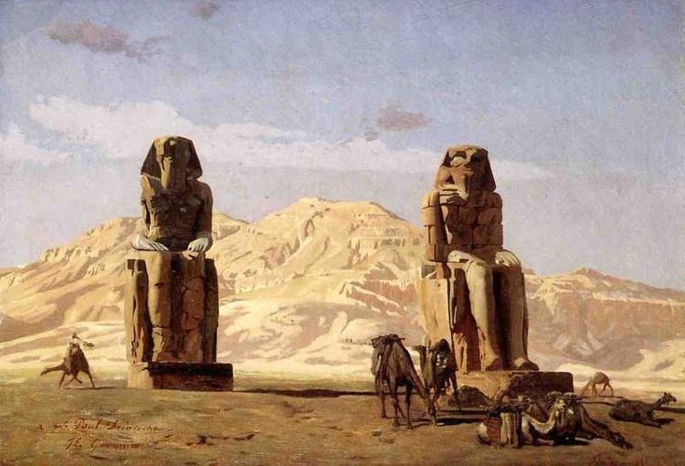 Hai bức tượng Pharaoh mới được tìm thấy, 1 bức tượng bằng đá thạch anh, 1 bức tượng bằng đá vôi.