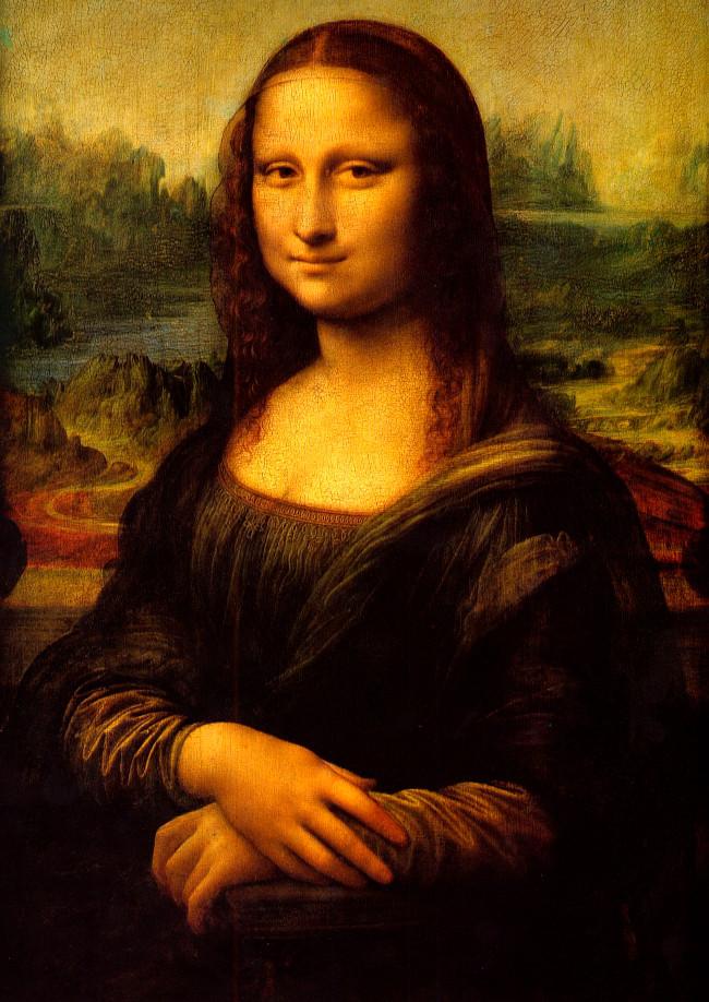 """Tuyệt phẩm """"Mona Lisa"""" của đại danh họa toàn năng Leonardo da Vinci (vẽ từ năm 1503–1506)."""