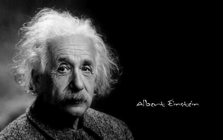 Einstein cũng giống như tất cả chúng ta khi gặp những rắc rối và mâu thuẫn trong cuộc sống.