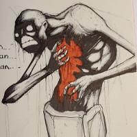Minh họa đáng sợ về 9 chứng bệnh tâm lý khủng khiếp nhất ở con người