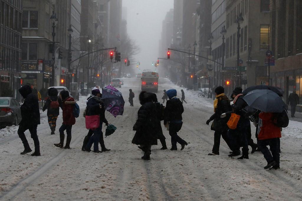 Cơ quan Thời tiết Quốc gia phát cảnh báo bão tuyết đối với các bang Pennsylvania, New Jersey, New York và Connecticut