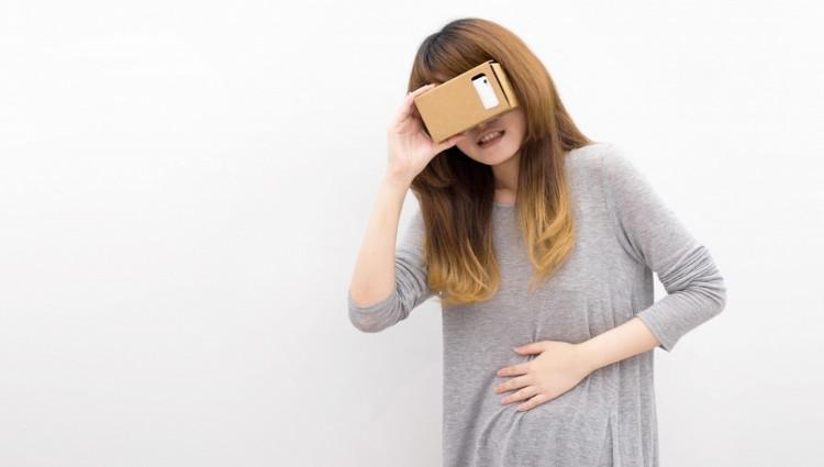 Nhiều người chơi bị hoa mắt và chóng mặt sau khi chơi các trò thực tại ảo.