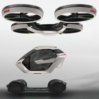 Airbus ra mắt taxi bay tự lái có khả năng biến hình