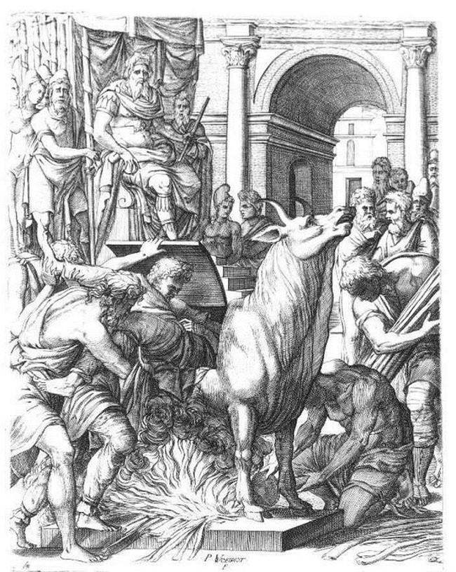 Con bò bằng đồng