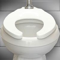 Tại sao bệ ngồi bồn cầu trong các toilet công cộng lại có hình chữ U?