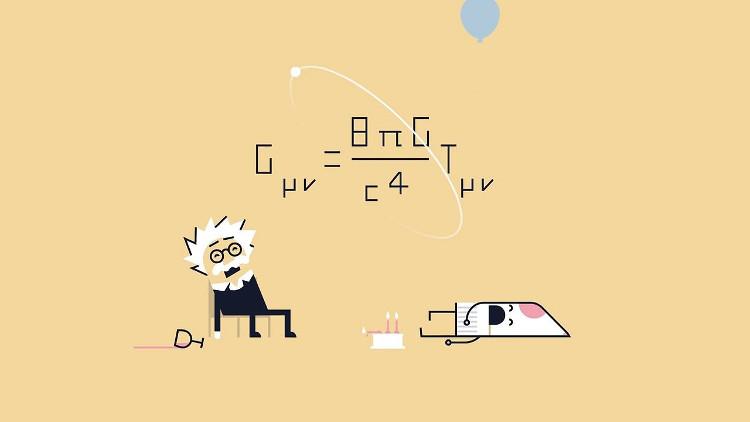 """Trong những thành tựu của Einstein, nổi tiếng nhất hẳn chính là """"Thuyết tương đối rộng""""."""