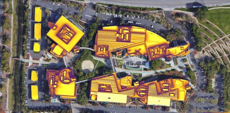Bản đồ năng lượng mặt trời mới của Google