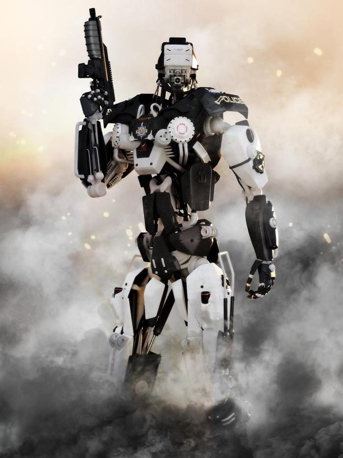 Robot hoạt động dựa trên trí thông minh nhân tạo.
