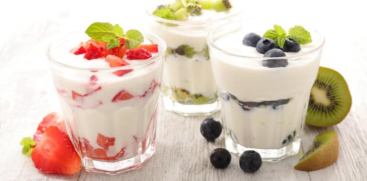 Ăn sữa chua buổi xế chiều: chống bức xạ và giảm căng thẳng