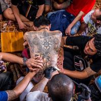 Bí ẩn thuật xăm huyền thuật của thiền sư Thái Lan