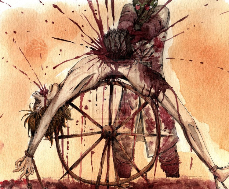Bánh xe đẫm máu