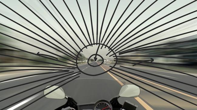 Tầm nhìn đường hầm là hiện tượng mắt chỉ tập trung hình vào hình ảnh trung tâm