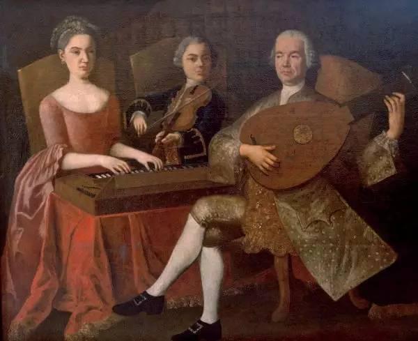 Gia đình Mozart.