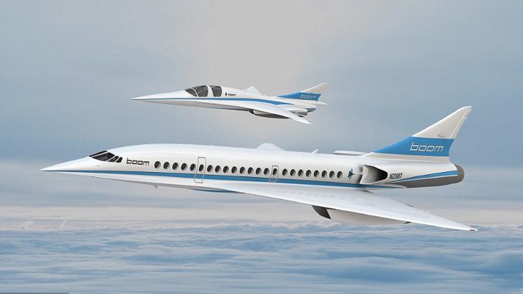 Máy bay Boom sẽ đi vào hoạt động từ thập niên 2020.