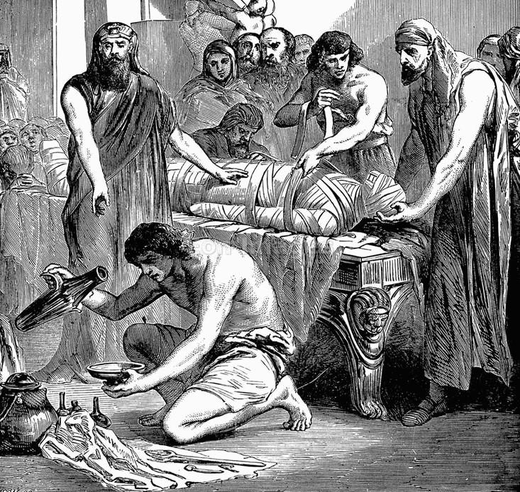 """Rùng mình """"thú"""" ăn thịt xác ướp thời cổ đại"""