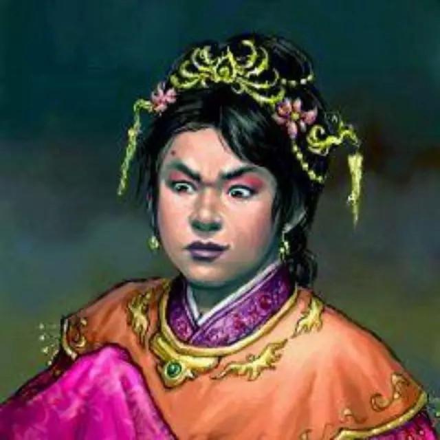 Ảnh minh họa chân dung hoàng hậu Giả Nam Phong.