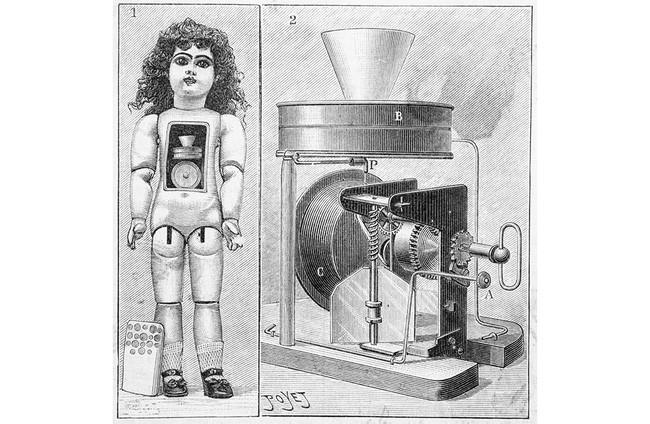 Vào tháng 4/1890, những con búp bê đầu tiên của Edison đã xuất xưởng.