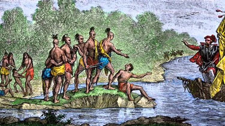 Mọi thứ bắt đầu vào năm 1492 khi Christopher Columbus vượt biển đến Tân thế giới.